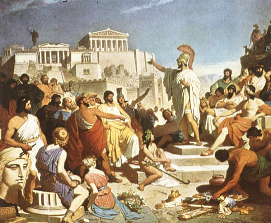 the state of democracy in ancient greece